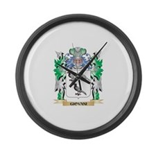 Giovani Coat of Arms (Family Cres Large Wall Clock