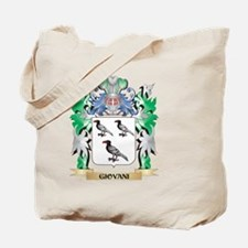 Giovani Coat of Arms (Family Crest) Tote Bag