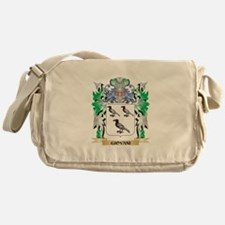 Giovani Coat of Arms (Family Crest) Messenger Bag