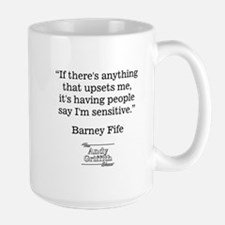 BARNEY FIFE QUOTE Large Mug