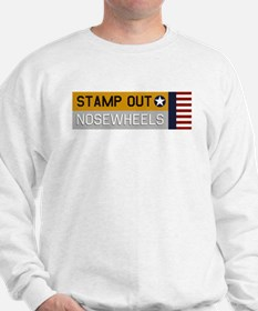 Stamp Out Nosewheels - PT-17 Yellow/Silver Sweatsh