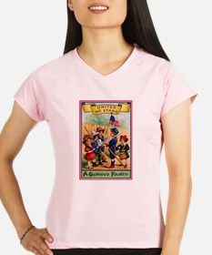 Independence Day Performance Dry T-Shirt
