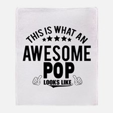 THIS IS WHAT AN AWESOME POP LOOKS LIKE Throw Blank
