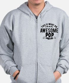 THIS IS WHAT AN AWESOME POP LOOKS LIKE Zip Hoody