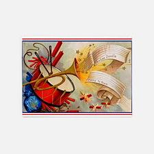 Yankee Doodle Patriotic 5'x7'Area Rug