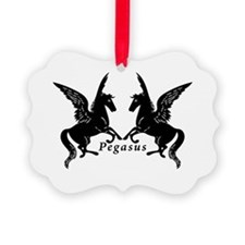 Funny Percy jackson Picture Ornament