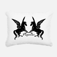 Cute Winged horse Rectangular Canvas Pillow