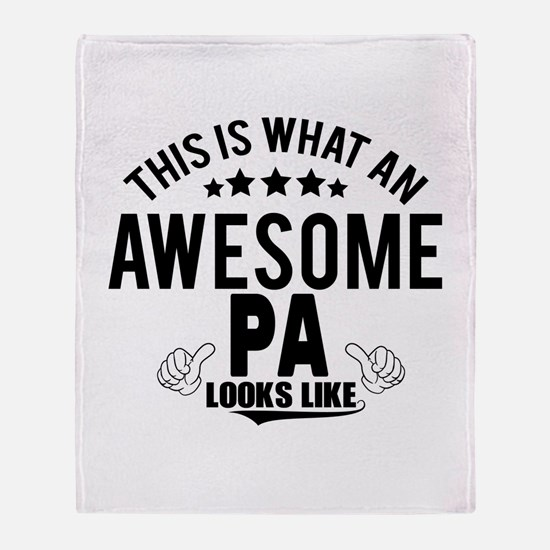 THIS IS WHAT AN AWESOME PA LOOKS LIKE Throw Blanke