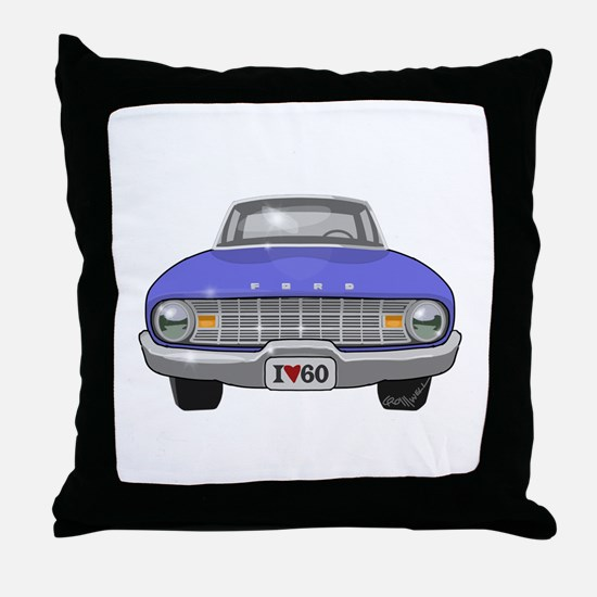 Ford Falcon Throw Pillow