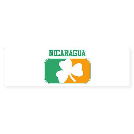 NICARAGUA irish Bumper Sticker
