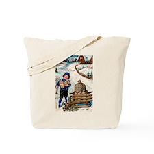 New Year Greeting Tote Bag