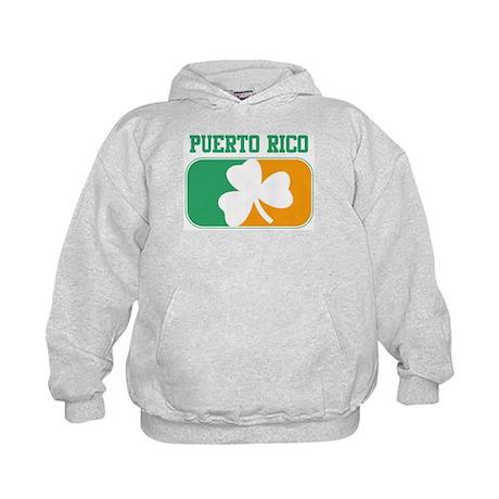 PUERTO RICO irish Kids Hoodie