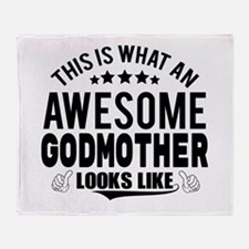 THIS IS WHAT AN AWESOME GODMOTHER LOOKS LIKE Throw