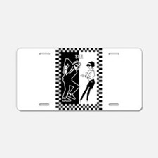Cute Ska Aluminum License Plate
