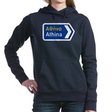 Athens, Greece Women's Hooded Sweatshirt