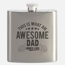 THIS IS WHAT AN AWESOME DAD LOOKS LIKE Flask
