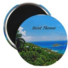 Cute Virgin islands Magnet