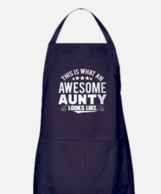 THIS IS WHAT AN AWESOME AUNTY LOOKS LIKE Apron (da