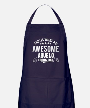 THIS IS WHAT AN AWESOME ABUELO LOOKS LIKE Apron (d