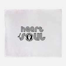 Heart of Soul northern soul Throw Blanket