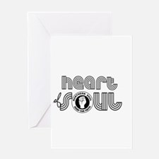 Heart of Soul northern soul Greeting Cards
