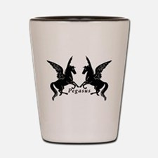 Cute Winged horse Shot Glass