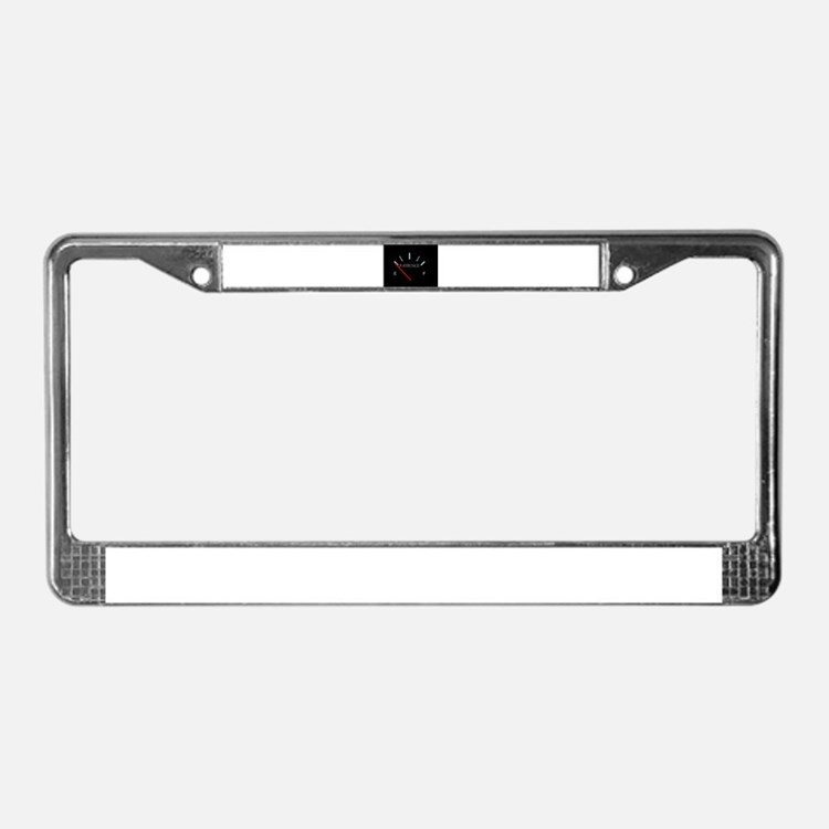 patience License Plate Frame