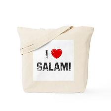 I * Salami Tote Bag