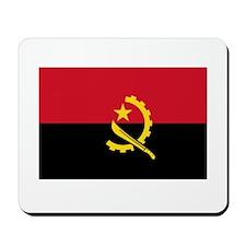 Angolan Flag Mousepad