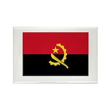 Angolan Flag Rectangle Magnet
