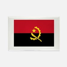 Angolan Flag Rectangle Magnet