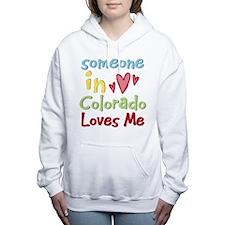 Funny Someone atlanta loves me Women's Hooded Sweatshirt