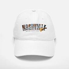 Nashville Music City-02 Baseball Baseball Baseball Cap
