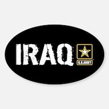 U.S. Army: Iraq (Black) Decal