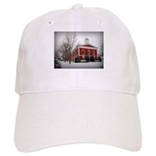 Courthouse in the Snow Baseball Baseball Cap