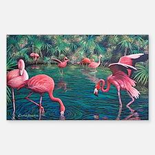 Unique Flamingo Decal
