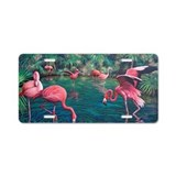 Flamingo License Plates