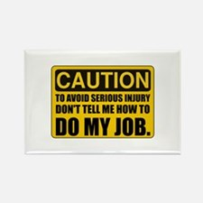 Funny Office workers Rectangle Magnet