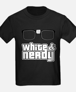 Funny White and nerdy T