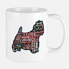 Mad about Plaid - and Westies! Mugs