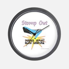 SUDDEN INFANT DEATH SYNDROME AWARENESS Wall Clock