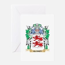 Glancy Coat of Arms (Family Crest) Greeting Cards