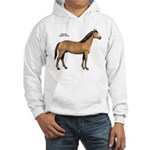 American Quarter Horse (Front) Hooded Sweatshirt