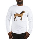 American Quarter Horse (Front) Long Sleeve T-Shirt