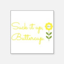 "Cute Buttercup Square Sticker 3"" x 3"""