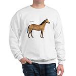 American Quarter Horse (Front) Sweatshirt
