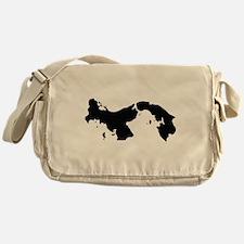Panama Silhouette Messenger Bag