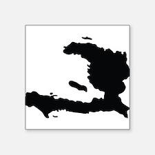 Haiti Silhouette Sticker