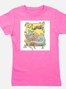 Funny Kids dragon Girl's Tee