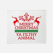 Christmas Throw Blanket